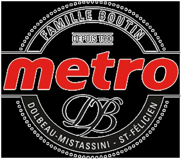 Logo Métro Dany Boutin