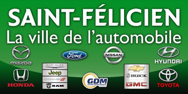 Logo Association des concessionnaires automobile de St-Félicien